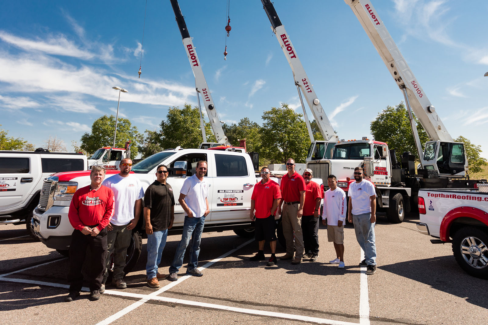 A picture of our crane service Denver, CO